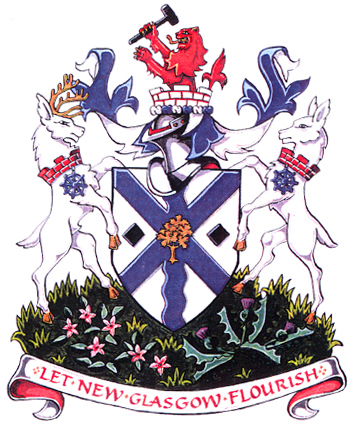 New glasgow coat of arms