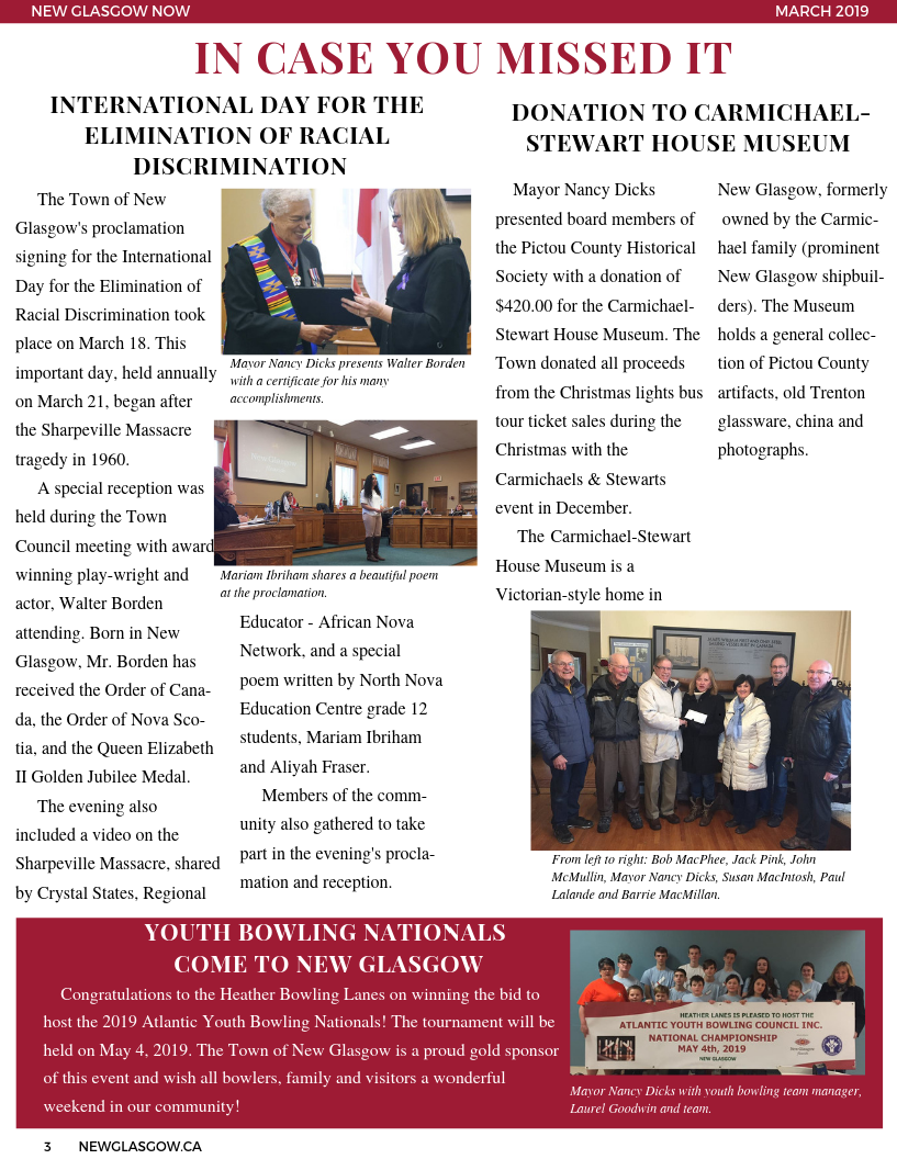 March 2019 Newsletter Page 3