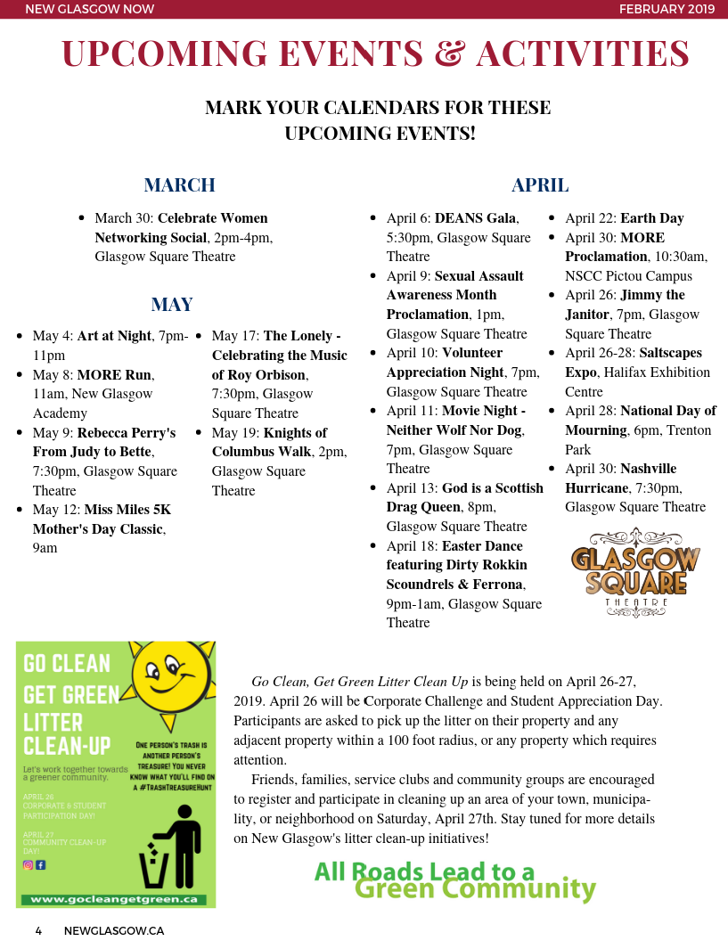 March 2019 Newsletter Page 4